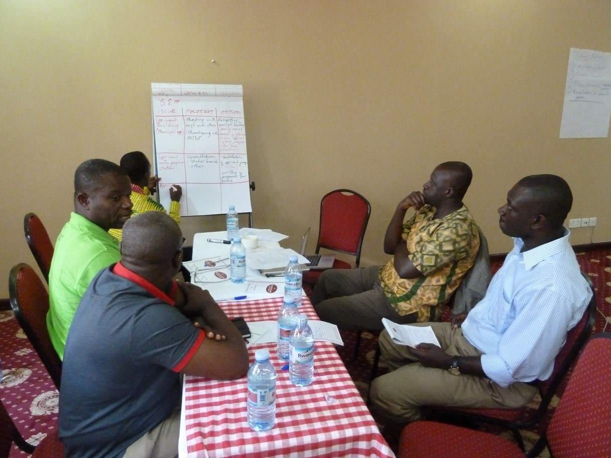 SAMSET Network Meeting 4 GH Country Group