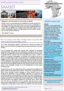 SAMSET newsletter march2015